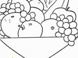 Bowl Of Fruit Coloring Page Pin by K Black On Children S Tip Crafts & Games Pinterest