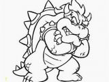 Bowser Mario Coloring Pages Bowser Coloring Pages