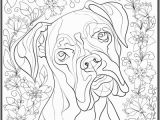 Boxer Dog Coloring Pages It S Proven Dogs Reduce Stress and Recently We Ve Re