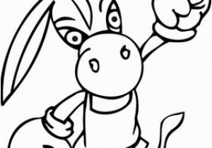 Boxing Glove Coloring Page Democrat Donkey Wearing Boxing Gloves Coloring Page