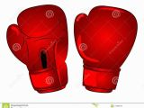 Boxing Glove Coloring Page Vector Boxing Gloves Cartoon Stock Vector Illustration Of Gloves