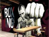 Boxing Wall Murals Custom Wall Paper 3d Boxing Gym Background Poster Murals Papel