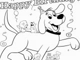 Boy Birthday Coloring Pages Clifford Coloring Pages Clifford Birthday Party Pbs