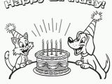 Boy Birthday Coloring Pages Coloring Pages Ideas Happy Birthday Coloring Pages Happy