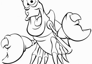 Boy Mermaid Coloring Page Little Mermaid Coloring Pages Sebastian the Crab