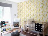 Boys Bedroom Wall Mural forest Animals Kids Wallpaper Mustard