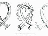 Breast Cancer Awareness Coloring Pages Printable Cancer Ribbon Template Yatay Horizonconsulting