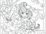 Breast Cancer Awareness Coloring Pages Printable Coloring Pages Dachshund – Pusat Hobi