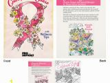 Breast Cancer Coloring Pages Promotional Color for the Cause Breast Cancer Awareness Coloring Books