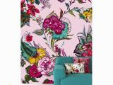 Brewster Home Fashions Wall Mural Pareo Pink Colossal Floral Wall Mural by Eijffinger for