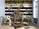 Brewster Home Fashions Wooden Wall Wall Mural Komar 100 In X 145 In Melli Mello Giraffe Wall Mural