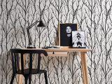 Brewster Home Fashions Wooden Wall Wall Mural Schöner Wohnen Vliestapete Green Experience Tapete Jung Modern 10 05 Mx 0 53 M Schwarz Weiß Made In Germany 2683 41