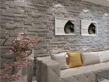 Brick Effect Wall Mural Modern 3d Brick Wallpaper Bedroom Living Room Wall
