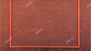 Brick Wall Mural Mockup Poster Frame On Brick Wall Stock Alamy
