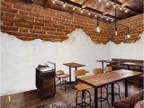 Brick Wall Murals Ideas Half Brick Wall and White Wall Art Wall Murals Wallpaper