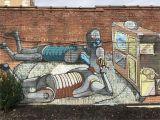 Brick Wall Murals Ideas Street Murals Downtown