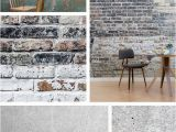 Brick Wall Murals Ideas the Rustic Dining Room Ideas are Created with Rustic