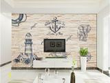 Brick Wall Murals Wallpaper Retro Vintage Brick Wall Mediterranean Wallpaper Idcwp Dz
