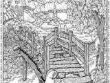 Bridge Coloring Pages for Kids 19 Best Nature Coloring Pages for Adults Images