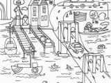 Bridge Coloring Pages for Kids Brooklyn Bridge Coloring Page