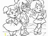 Brittany and the Chipettes Coloring Pages List Of Pinterest Alvin and the Chipmunks Cartoon Coloring
