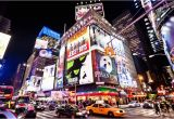 Broadway Wall Mural Busy Times Square Wallpaper Wall Mural