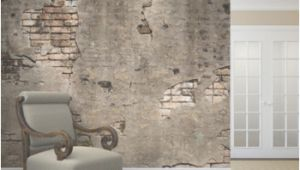 Broken Concrete Wall Mural Broken Concrete Wall Mural In 2019 Products