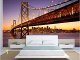 Brooklyn Bridge Black and White Wall Mural Bridge Wallpaper Bridge Wall Mural San Francisco Wallpaper San Francisco Wall Mural Bridge Wall Mural Bridge Wall Decal Sf Wallpaper