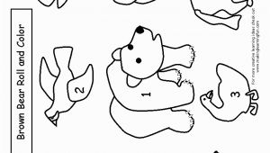 Brown Bear Brown Bear Coloring Pages Brown Bear Brown Bear What Do You See Coloring Page