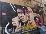 Bruce Lee Wall Mural the Best Street Art In Hong Kong