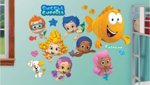 Bubble Guppies Wall Mural Bubble Guppies Collection Wall Decals by Fathead
