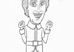 Buddy the Elf Movie Coloring Pages Zooey Deschanel