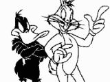 Bugs Bunny and Daffy Duck Coloring Pages Bugs Bunny and Daffy Duck Coloring Pages for Kids
