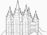 Building the Temple Coloring Pages Lds Coloring Pages Pdf