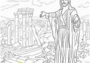 Building the Temple Coloring Pages Reconstruyendo El Templo Pagina De Actividades