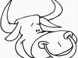 Bull Head Coloring Page Bull Head Coloring Page Free Bull Coloring Pages