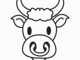 Bull Head Coloring Page Coloring Page Bull S Head Img