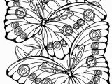 Butterflies Coloring Pages Fantasy Pages for Adult Coloring