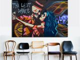 Buy Mural Paintings Online Graffiti Canvas Art Modern Street Art Last Dance Wall for