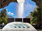 Buy Wall Mural Online Line Shop Custom 3d Wall Mural Dormer Waterfall Blue Sky
