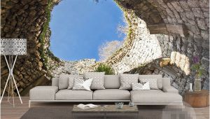 Buy Wall Mural Online the Hole Wall Mural Wallpaper 3 D Sitting Room the Bedroom Tv Setting Wall Wallpaper Family Wallpaper for Walls 3 D Background Wallpaper Free