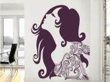 Buy Wall Murals Online India Impression Wall Florel Girl Design Wall Art