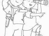 Caillou Coloring Pages Sprout Cailou Coloring Pages