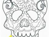 Calavera Mask Coloring Page 186 Best Adult Coloring Pages Images In 2018