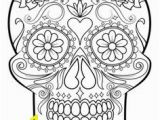 Calavera Mask Coloring Page Printable Skulls Coloring Pages for Kids Cool2bkids