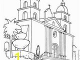 California Missions Coloring Pages 174 Best California History Images In 2020
