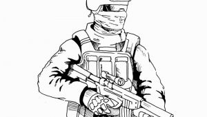 Call Of Duty Printable Coloring Pages Call Of Duty Coloring Pages Drawing by Danboy0812 Free
