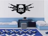 Call Of Duty Wall Murals Call Duty Black Ops Skull Xbox Vinyl Wall Decal by