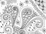 Calming Coloring Pages for Students Coloring Page Printable Abstract Random Instant Digital Download