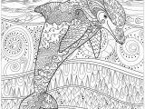 Calming Coloring Pages for Students Delfine Delfine Malbuch Fur Erwachsene